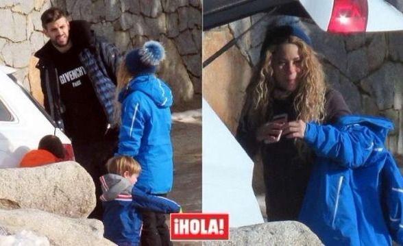 Shakira y Piqué, su tensa relación con los medios